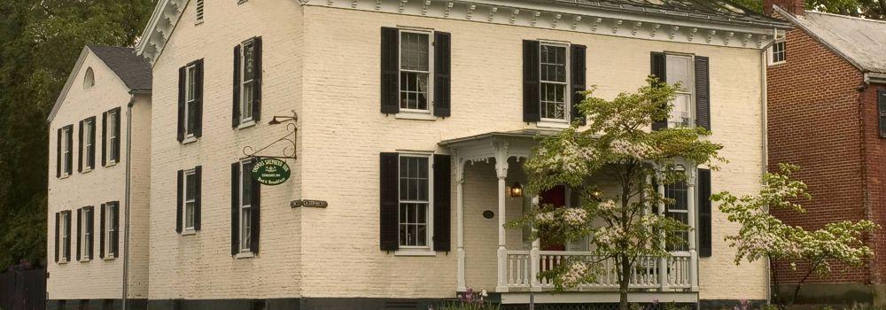 Exterior of the inn