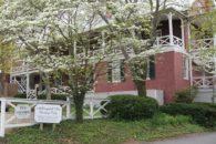 Exterior of the inn.